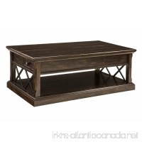 Signature Design by Ashley T701-9 Roddinton Coffee Table with Lift Top Dark Brown - B078MS8373