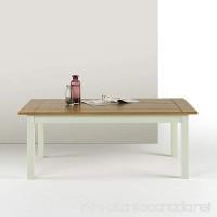 Zinus Farmhouse Wood Coffee Table - B0765DSMPY