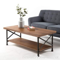 Zinus Industrial Style Coffee Table - B078RY9FY4