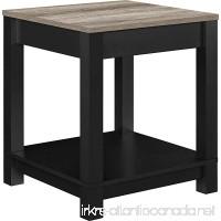Ameriwood Home 5046196PCOM Carver End Table Black - B017U532NO