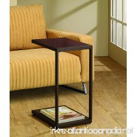 Coaster Contemporary Brown Snack Table - B009FBPF5K