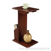 Convenience Concepts Abby Magazine C End Table Mahogany - B01MG2GUPD