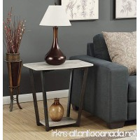 Convenience Concepts Graystone End Table  Faux Birch - B01N9JKJOO
