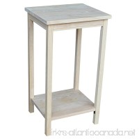 International Concepts OT-42 Accent Table  Unfinished - B0029LHTEI