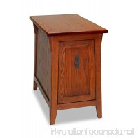 Leick Favorite Finds Mission Cabinet End Table Russet - B003ZV87ZQ