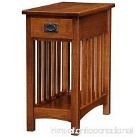 Leick Furniture Mission Side Table  Medium Oak - B009IURXEO