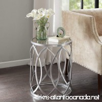Madison Park Arlo Metal Eyelet Accent Table - B00XPI8WFO