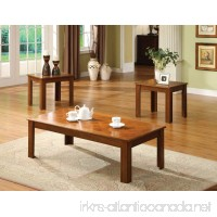 247SHOPATHOME IDF-4168OAK-3PK Living-Room-Table-Sets Oak - B0091V3T8O