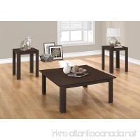 3 PIECES CAPPUCCINO COFFEE TABLE SET - B071S8XSPC