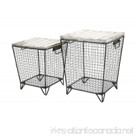 Imax 88646-2 Ava Cage Tables (Set of 2) - B01CE3VRK2