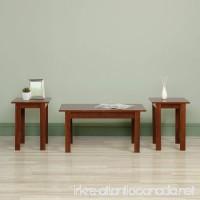 Sauder 418874 3-Piece Table Set  Brook Cherry Finish - B00UZCDODS