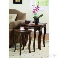 Coaster Traditional Warm Brown Nesting Table - B004J8NA8I