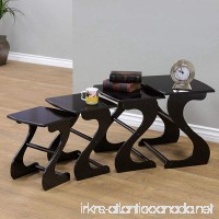 Frenchi Home Furnishing Nesting Tables (Set of 4) - B00M39WYR8