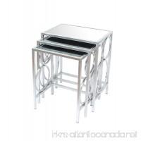 Teton Home AF-107 3 Piece Nesting Table Set - B01E0LOJ7O