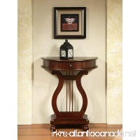 All Things Cedar LY04 Half Moon Harp Table - B00V87KECS