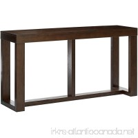 Ashley Furniture Signature Design - Watson Sofa Table - Rectangular - Contemporary Living - Dark Brown - B0012ZRP1E
