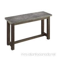Home Styles 5133-22 Concrete Chic Console Table - B00GKBEBK8
