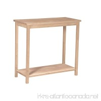 International Concepts OT-43 Accent Table  Unfinished - B0029LHTF2