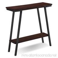 Leick 11431 Empiria Modern Industrial Hall Stand - Walnut - B01M27XSKE
