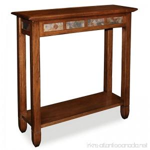 Leick Furniture Rustic Slate Hall Stand - Rustic Oak Finish - B007K9ORIA