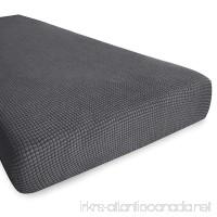 Hokway Stretch Fabric Sofa Cushion Slipcovers 3 Cushion Couch Sofa Cushion Protector Covers (Gray  Sofa Cushion) - B07BKS6XG4