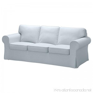 IKEA Cover for Ektorp Sofa Nordvalla Light Blue - B079KKV7SK