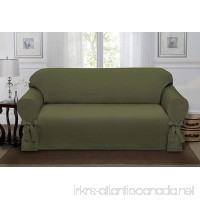 Madison Lucerne Sofa Slipcover Loden - B00MW521WG