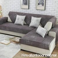 Royhom Sofa Protector Sofa Slipcover Keeps Furniture Safe From Kids Children Pets | Backrest and Armrest Sold Separately | Dark Grey 35 x 63 - B07C3CN997