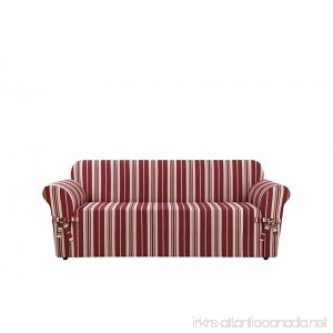 Sure Fit SF37922 Stripe Sofa Slipcover Multicolored - B01M3UNSQG