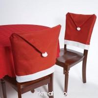 Christmas House 20 Santa Hat Chair Covers (Set of 4) - B00GDRYRWQ
