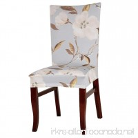 Sothread Stretch Removable Washable Dining Chair Covers Printed Decor Protect Slipcover (F). - B07635J2CQ