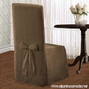 United Curtain Metro Dining Room Chair Cover 19 by 18 by 42-Inch Taupe - B00FKIQ682