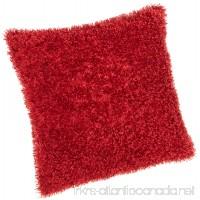 Brentwood Fifi Knife Edge 18-Inch Pillow  Red - B0025VK81I