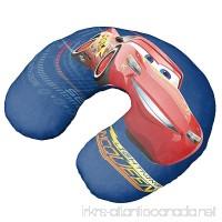 Disney/Pixar Cars 3 Movie Speed Lightning Mcqueen Blue Neck Pillow - B071FCL9PB
