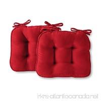 Greendale Home Fashions Scarlet Chair Pads  Set of 2 - B00909RDTI