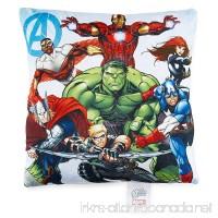 "Marvel Avengers Assemble 11""x11"" Decorative Pillow - B00XC04FRY"