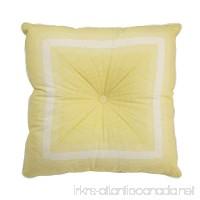 WAVERLY 15550020X020SPR Paisley Verveine 20-Inch by 20-Inch Tufted Stripe Decorative Pillow Spring - B01N7QQ2QQ