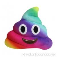 YIWULA Amusing Emoji Emoticon Cushion Heart Eyes Poo Shape Pillow Doll Toy Gift - B01M16MLB1