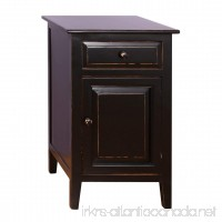 Antique Revival Evelynn Nightstand  Black - B00MVNNLPA