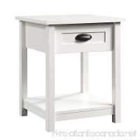 "Sauder County Line Night Stand  19.84"" L x 18.66"" W x 23.9"" H  Soft White - B00PYI2J5M"