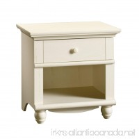 Sauder Harbor View Night Stand Antiqued White Finish - B00101R76S
