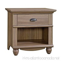 Sauder Harbor View Night Stand Salt Oak with One Drawer - B00E4P1BIC