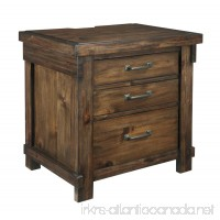 Signature Design by Ashley Lakeleigh Night Stands  Brown - B071XK58WK