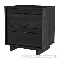 South Shore Fynn Collection Nightstand - Gray Oak by - B008CDVXOO