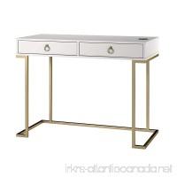 Ameriwood Home 9855013COM Writing Desk  White - B07FCRSP8W