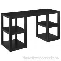 Ameriwood Home Deluxe Parsons Desk Black Oak - B007TLKL8O