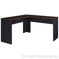 Ameriwood Home The Works L-Shaped Desk Cherry - B00JHF8OAW