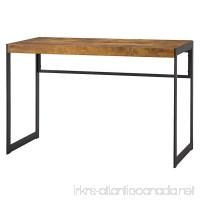Coaster Estrella Industrial Antique Nutmeg Writing Desk with Metal Frame - B018FN89SS