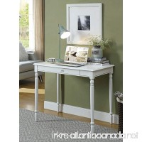 Convenience Concepts French Country Desk  36-Inch  White - B00FDPLOU2