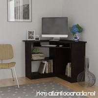 Essential Home Corner Computer Desk  Espresso - B00P1F89SO
